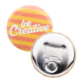 MagBadge Bottle - button met pin en flesopener