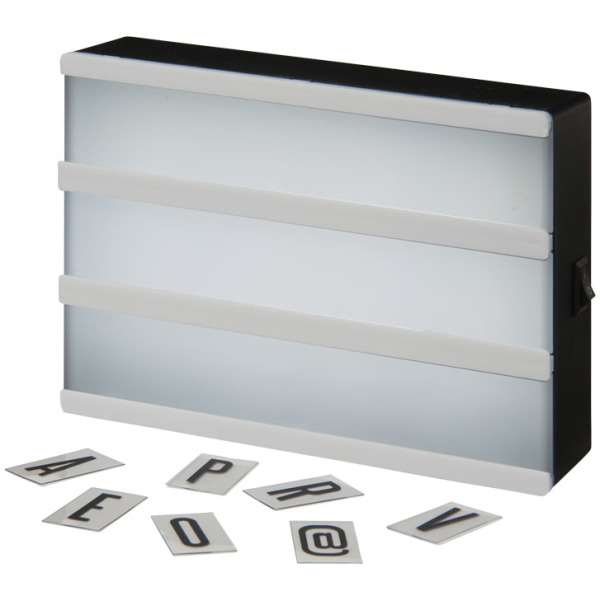 Cinema decorative lightbox medium