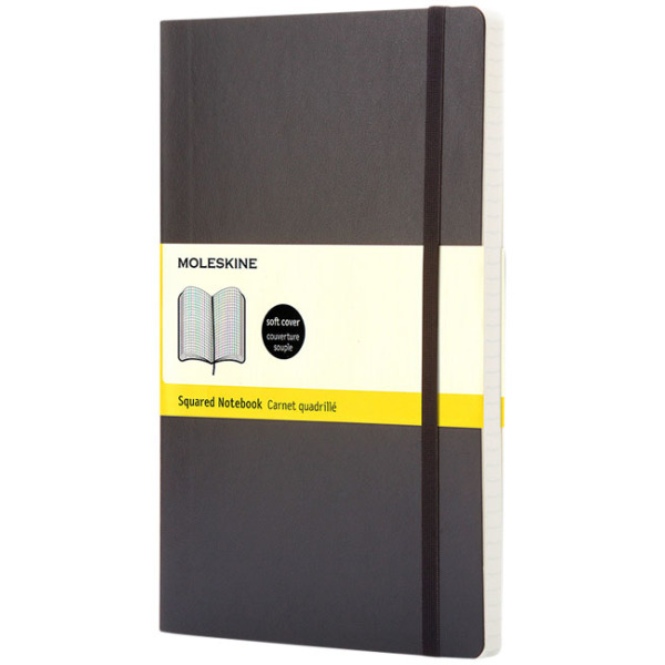 Classic PK soft cover notitieboek - ruitjes