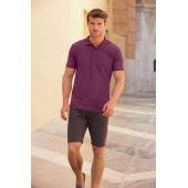 65/35 polo (63-402-0) purple l