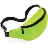 Belt bag lime green one size