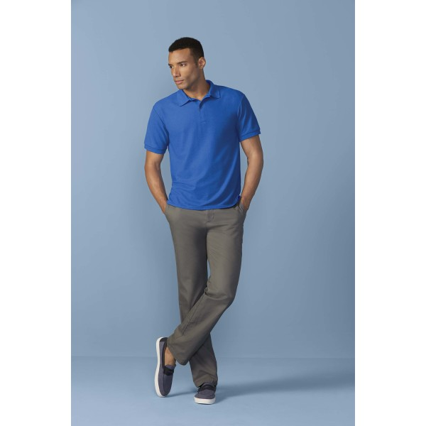 Dryblend®adult double piqué polo