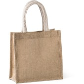 Shopper van jutecanvas - klein model
