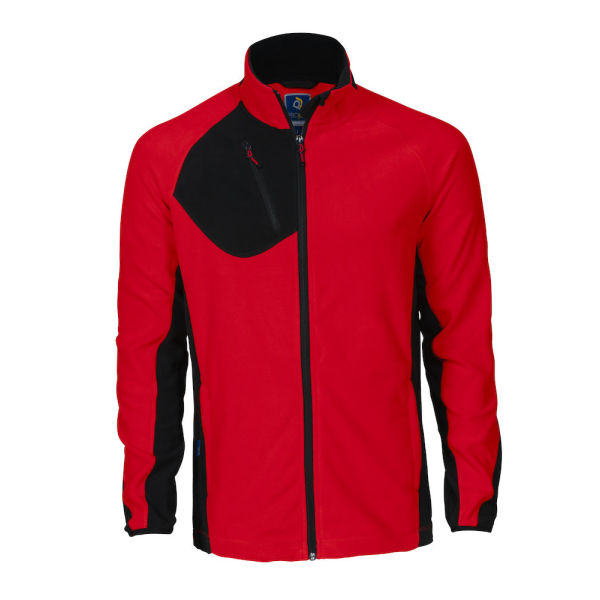 2325 fleecejacket men red 4XL