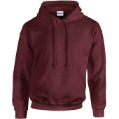 Heavy blend™ classic fit adult hooded sweatshirt maroon m