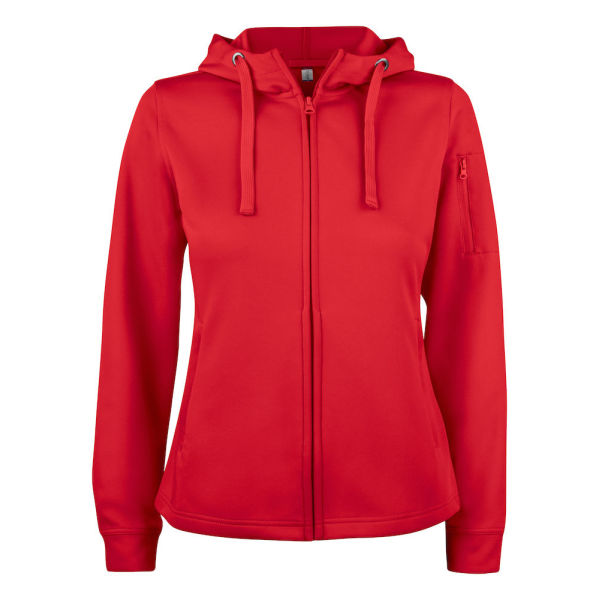 Clique Basic Active Hoody FZ Ladies Sweatshirts