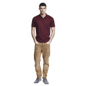 MEN'S SLIM CUT JERSEY POLO SHIRT