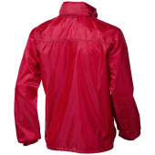 Action unisex opvouwbare jas - Rood - M