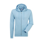 Authentic Zipped Hood, Sky, S, RUS