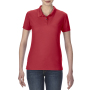 Gildan Polo Performance Double Pique SS for her Red XXL