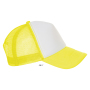 Bubble, White/Neon Yellow, One size, Sol's