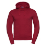 Authentic Hooded Sweat, Classic Red, XXL, RUS