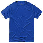 Niagara cool fit heren T-shirt korte mouwen - blauw - M