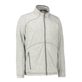 Men's Zip'n'Mix melange fleece