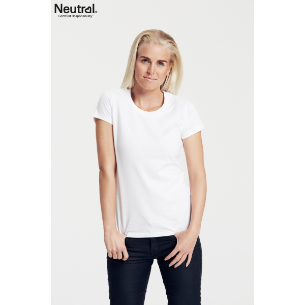 Neutral Fit T-Shirt Vrouw - O81001