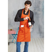 Apron - halterschort dark grey one size