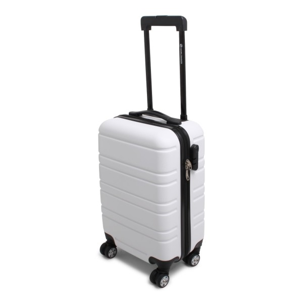Cabin Size Napoli Trolley RPET White