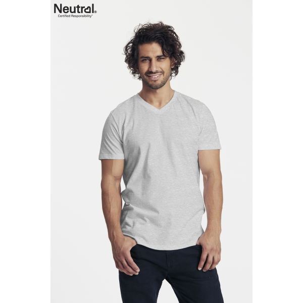 Neutral V-Hals T-Shirt Man - O61005