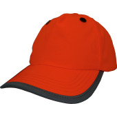 Bump 5 panels cap orange one size