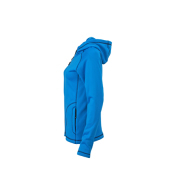Ladies' Stretchfleece Jacket - azure/navy