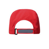 3 Panel Cap with UV-Protection - rood