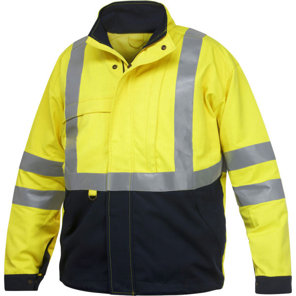 8402 FLAME RETARDANT HIGH VISIBILITY JACKET