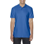 Gildan Polo Softstyle Double Pique SS for him Royal Blue 3XL