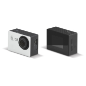 Action cam full HD zwart / grijs