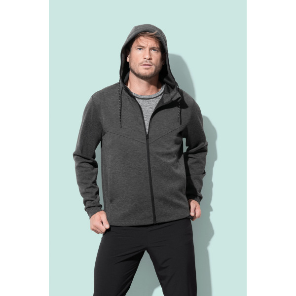 Stedman Jacket Hooded Scuba for him
