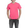 Gildan T-shirt Heavy Cotton for him safety pink XXL