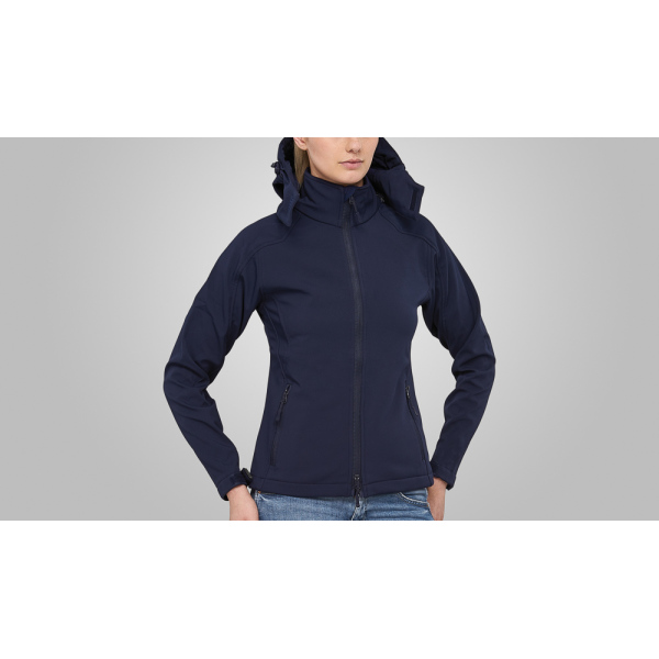 Macseis Jacket Softshell Trek Cap for her Blue