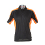Active Polo Shirt XL Black/Orange