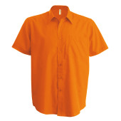 Ace - heren overhemd korte mouwen orange xs