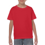 Gildan T-shirt Heavy Cotton SS for kids Red S