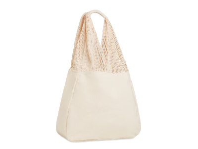 BARBUDA - Beach bag cotton/mesh