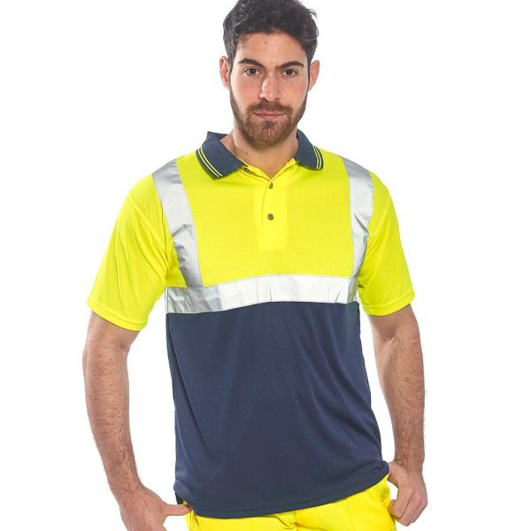 Hi-Vis Two Tone Polo Shirt