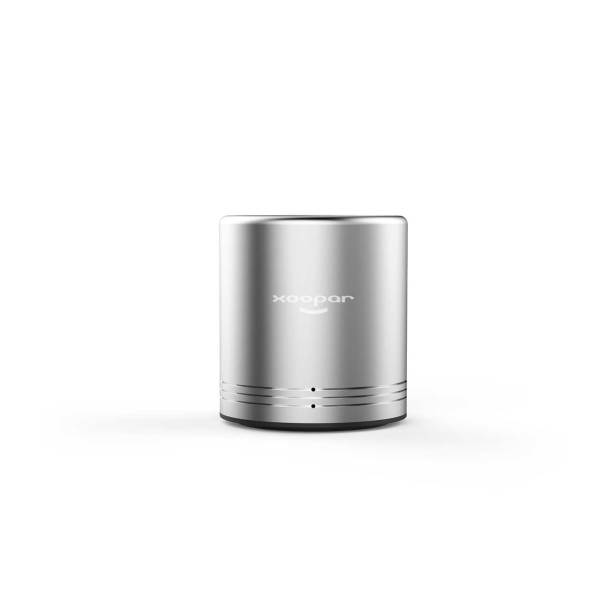 Xoopar Volcano II Wireless Metal Speaker - silver