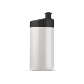 Sportbidon design 500ml - Wit / Zwart