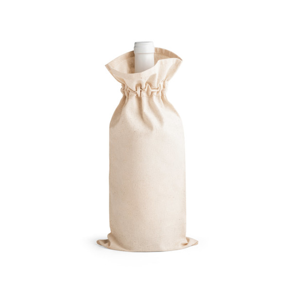 JEROME. 100% cotton bag for bottle
