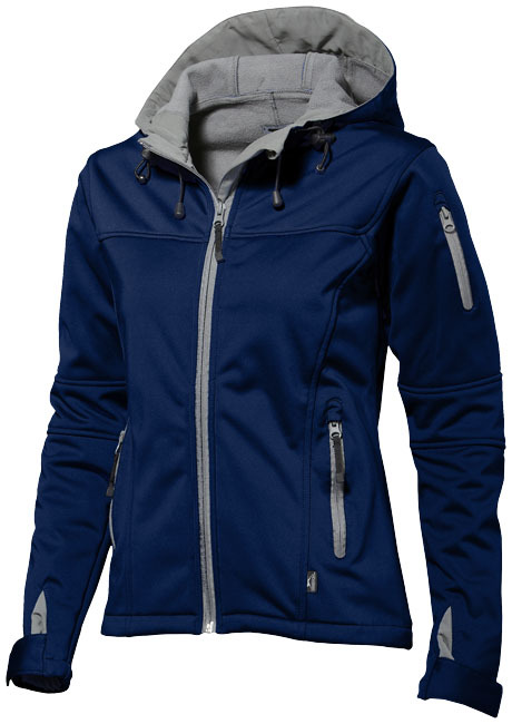 Match softshell damesjack - Navy - XL