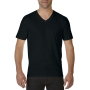 Gildan T-shirt Premium Cotton V-Neck SS for him Black XXL