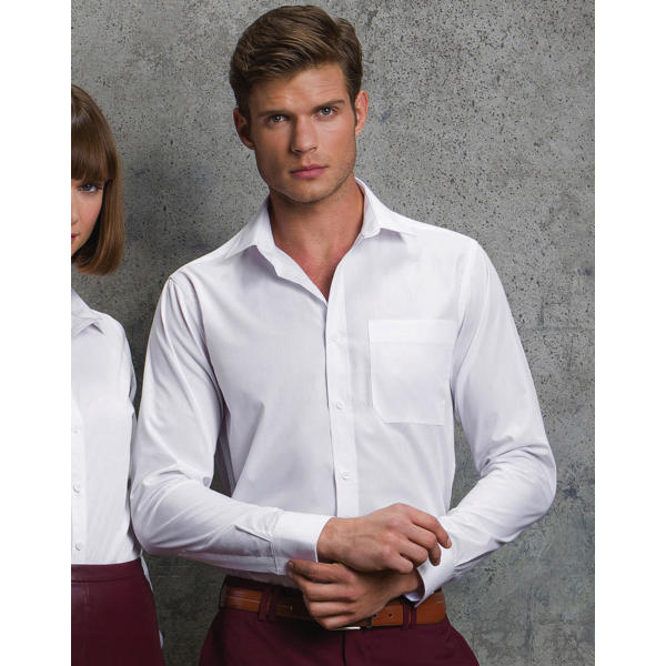 Tailored Fit Poplin Shirt