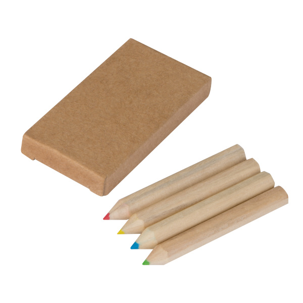 4 colouring pencils set