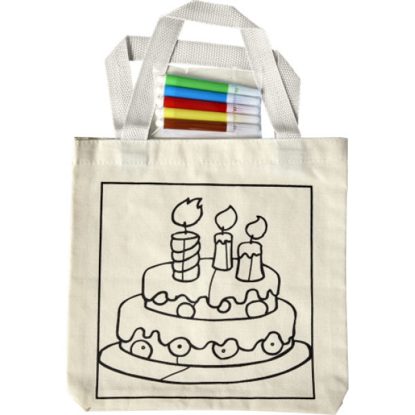 Cotton (130-140 gr/m²) shopping bag