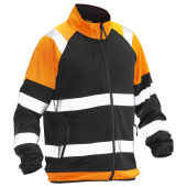 Jobman 5127 Softshell light jacket Hi-Vi zwart/oranje 3xl