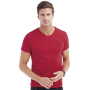 Ben V-neck - Crimson Red