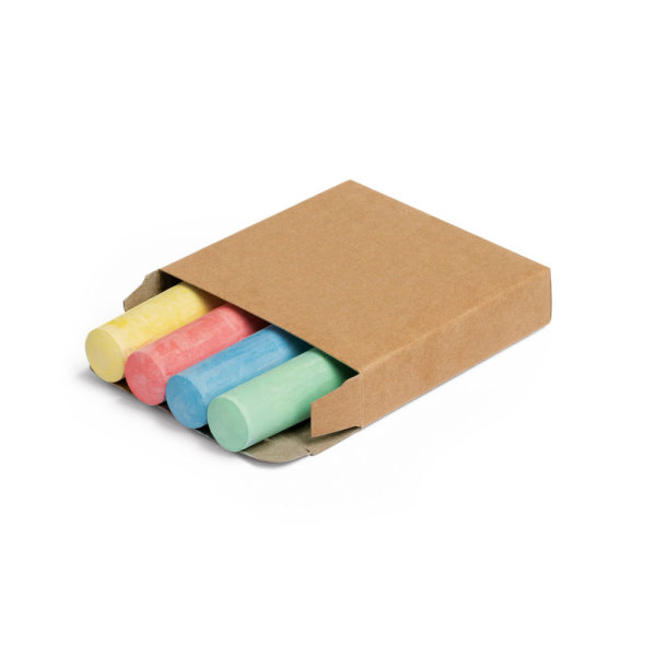 PARROT. Pack of 4 chalk sticks