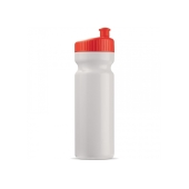 Bidon 750ml Full-Color druk wit / rood