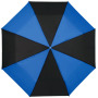 "21"" Spark 3-section duo tone umbrella - solid black,Blue"