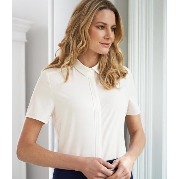 Ladies Siena Short Sleeve Blouse